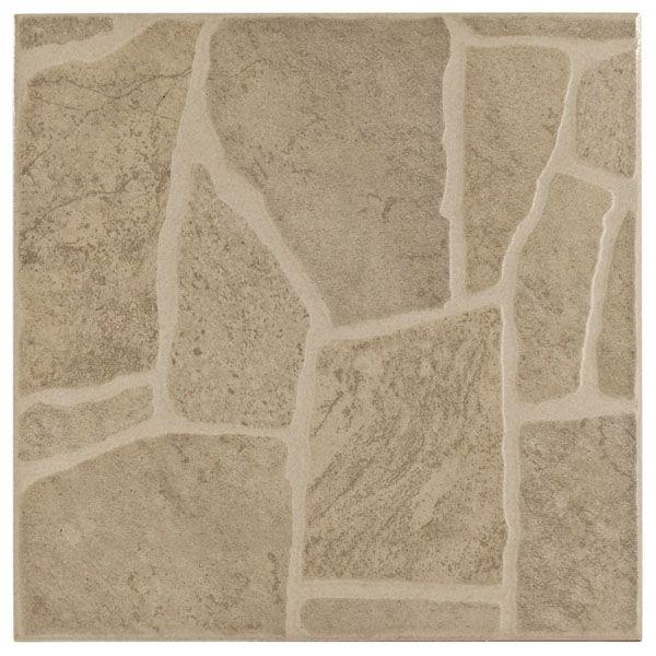 Floor Decor More: Quartzo Ceramic Tile 18x18, .99/sq Ft Flagstone Seems More