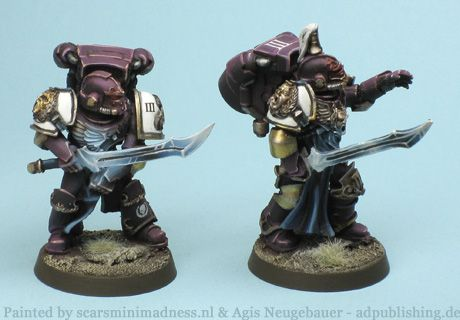 Agis Page of miniature painting and gaming - Emperors Children