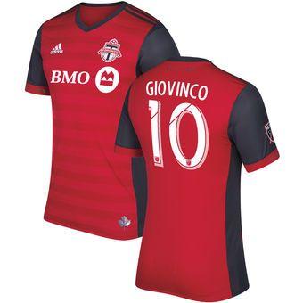 adidas Sebastian Giovinco Toronto FC Red Primary Authentic Jersey #torontofx #toronto #mls