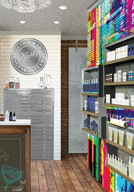 Kiehl's Spa 1851Kiehls Projects, Kiehls Spa, Kiehls Interiors, Spa 1851