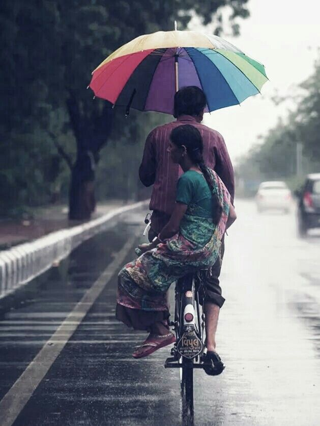 STYLING with an umbrella
