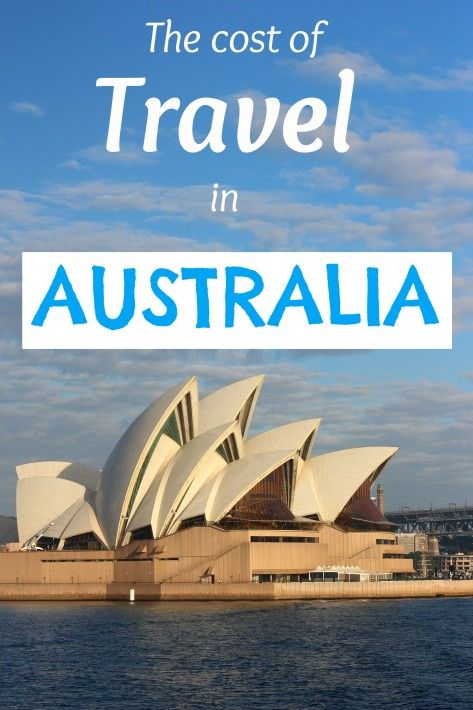 The cost of travel in Australia. Yep... it's expensive.