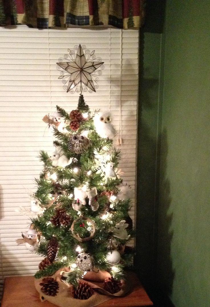My Woodland Bedroom Christmas Tree Christmas Christmas