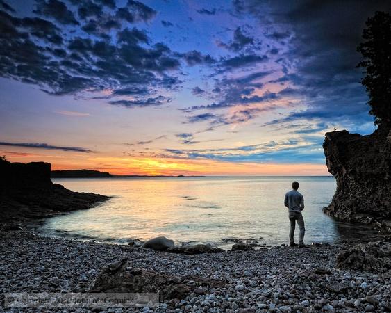 Looking out onto Lake Superior, Marquette, MI: Favorite Places, Presqu Isle, Isle Parks, Lakes Superior, Landscape Photography, Beautiful Black, Michigan Upper, Black Rocks, Marquett Michigan I