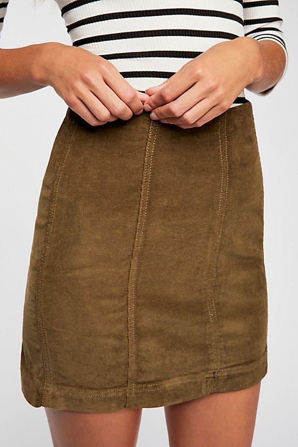 4f5459807 Modern Femme Cord Mini | ☆ s t y l e ☆ | Mini, Mini skirts, Modern