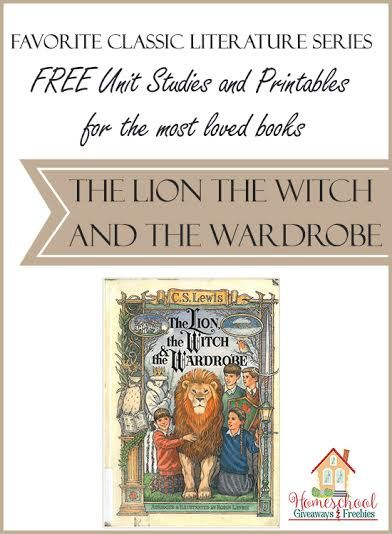 The classic book, The Lion, the Witch, and the Wardrobe is being featured in Homeschool Giveaways' latest series. This well-loved book has much to explore as it