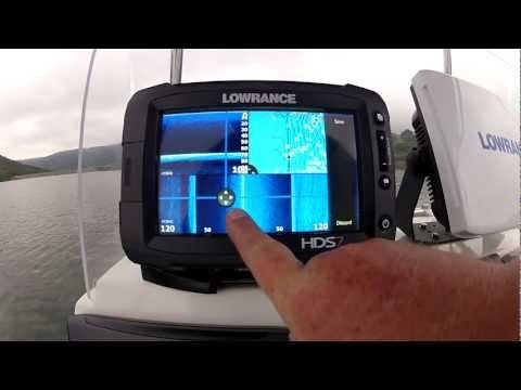 More features of this awesome touch enabled fishfinder / chartplotter