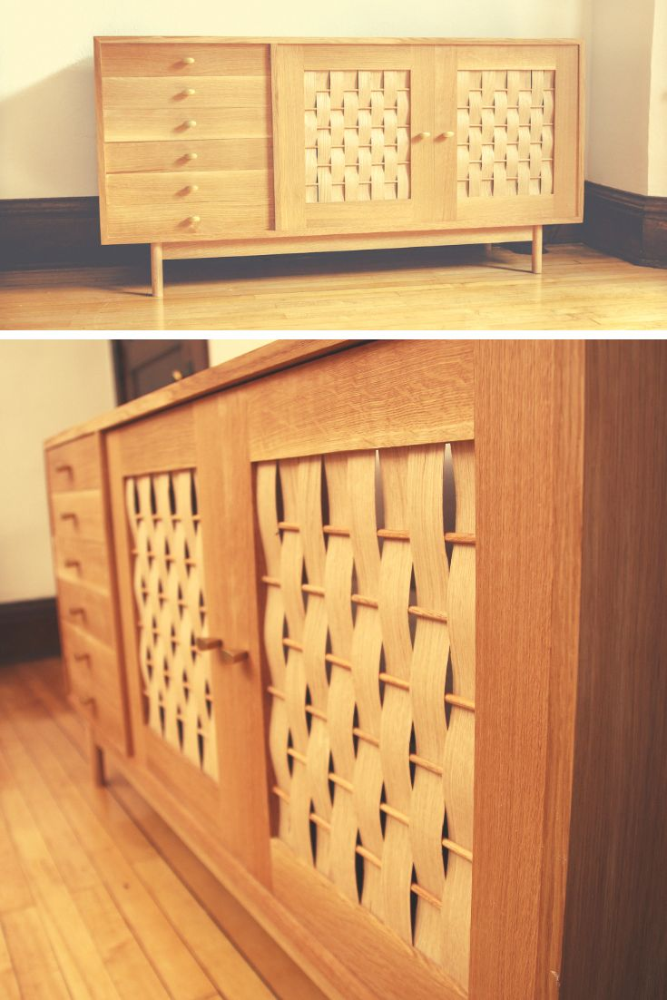 A Simple Mitered Credenza | Popular Woodworking Magazine