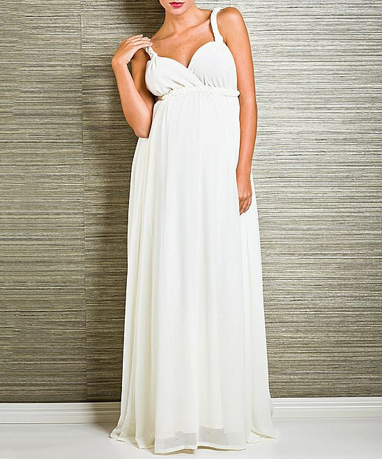 love by isabel adrian old lace belucci maternity maxi dress