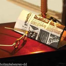 Dolls House 3697 vignettes journal et lunettes 1:12 pour maison de poupée NOUVEAU! #