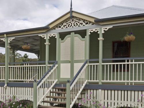 lattice verandah doors paint - Google Search