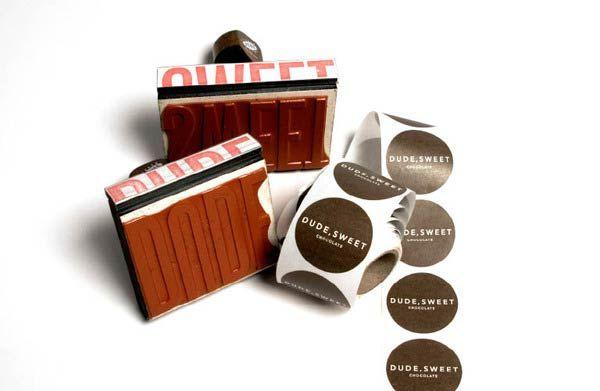 Desain Stempel Karet - Produk Cokelat 1