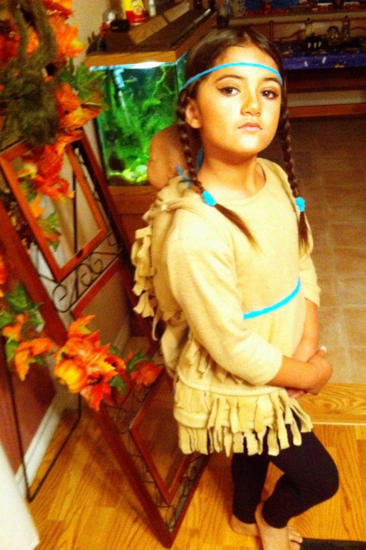 Stormys Sacagawea Costume 2013 Halloween