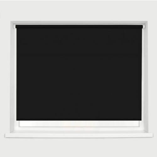Free shipping ! New 100%  Blackout Black  Roller blinds Made to Measure #Affiliate