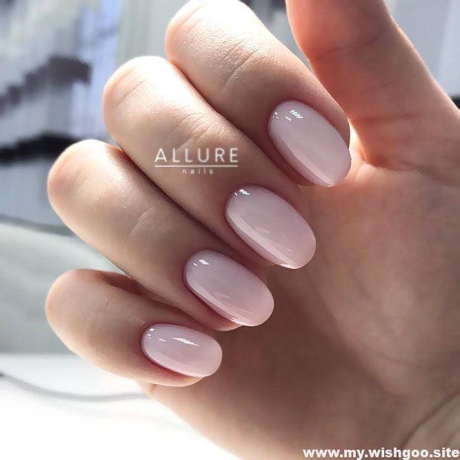 Elegant And Natural Acrylic Nails Short Acrylic Nails Almond Short Acrylic Nails Acrylic Al Natural Acrylic Nails Short Acrylic Nails Trendy Nails