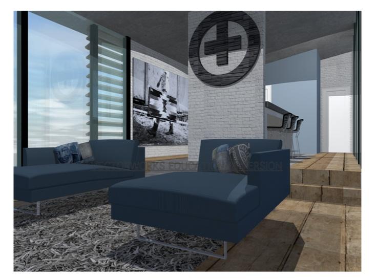 inkijk woonkamer Guesthouse