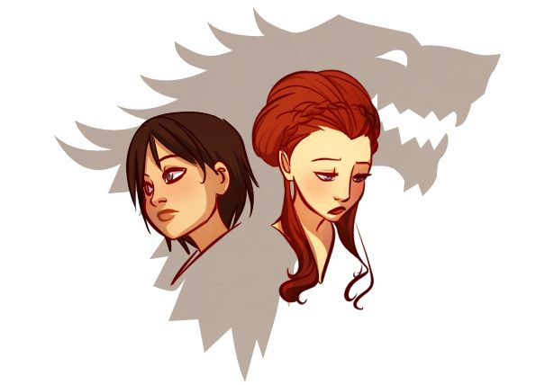 Stark girls by ~gabzillaz on deviantART