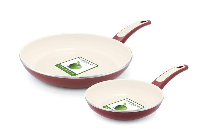 GreenPan Focus 2 Piece Non-Stick Frying Pan Set