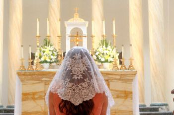 Beautiful article on wearing a veil for Mass.