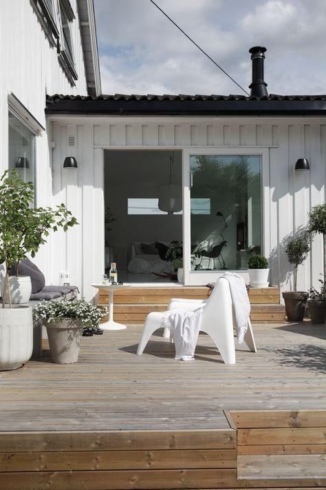 Nå er det virkelig påtide jegdeler noen bilder fraprosjektet vi startet på i fjor sommer, terrassen. Huset er bygget på 60-tallet med et tilbygg fra 80-tallet der løsningene er både utfordrende og spennende å jobbe videre med. Den lille terrassen … Les videre