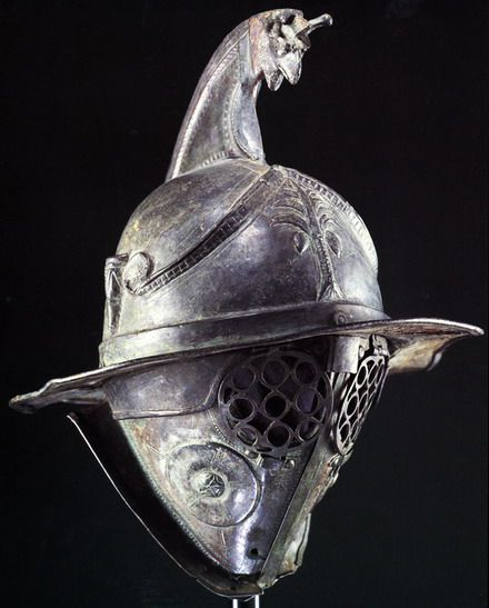 Arch Duke Avatar  Joined: 13-Sep-2006 Location: Bulgaria Online Status: Offline  This is an original thracian gladiator helmet.It was very popular because many of gladiators were thracians.