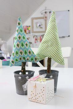 DIY Tannenbaum nähen | Weihnachtsdekoration