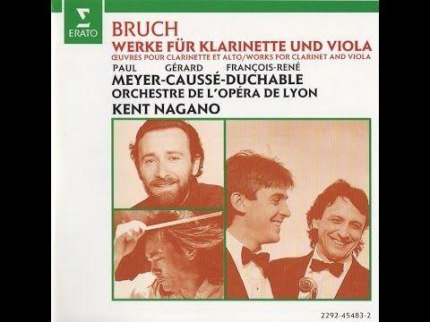 Max Bruch - Romance for Viola & Orchestra - Andante con moto - Gérard Ca...