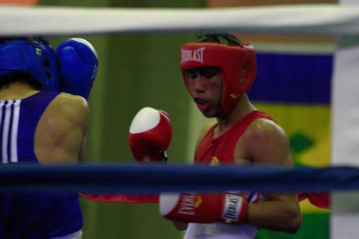 Eduar Marriaga cayó en la categoría del peso Ligero del boxeo olímpico.