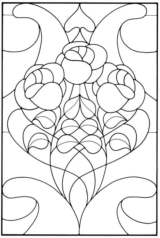 1000 Images About Stained Glass Patterns Amp Ideas On