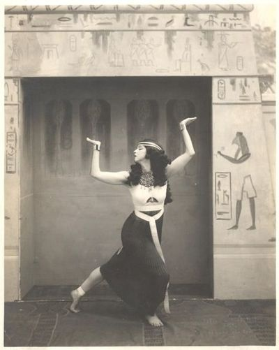 Ruth St Denis in The Ballet Egyptienne