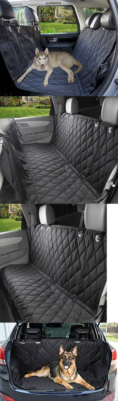 Car Seat Covers 117426: Sumcoo Nonslip Waterproof Leather Pet Dog Back Seat Covers Protector And BUY IT NOW ONLY: $36.62