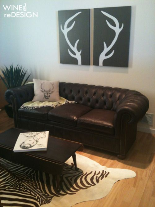 order asics online uk Deer Antler Art DIY hang in living room gotta show this to Danessa