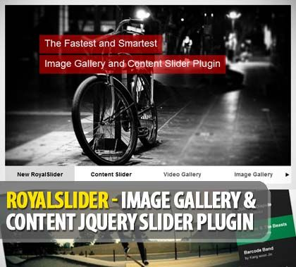 RoyalSlider – Professional Image Gallery and Responsive Content jQuery Slider Plugin