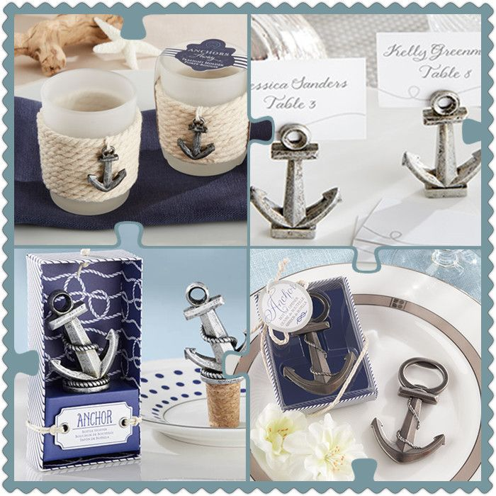 Anchor Themed Nautical Wedding Party Favors from HotRef.com