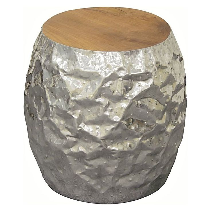 Perina Drum Side Table