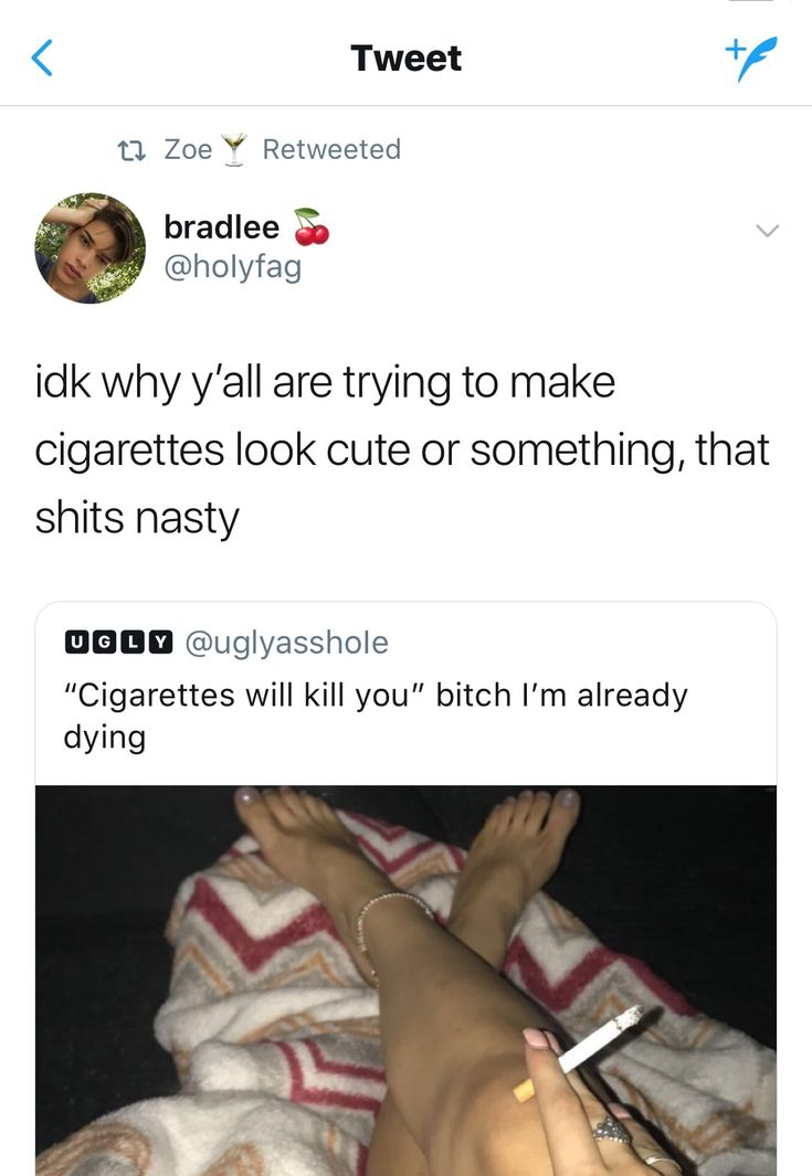 especially when you come into school smelling of cigarettes because your mom smokes in the car when she takes you to school