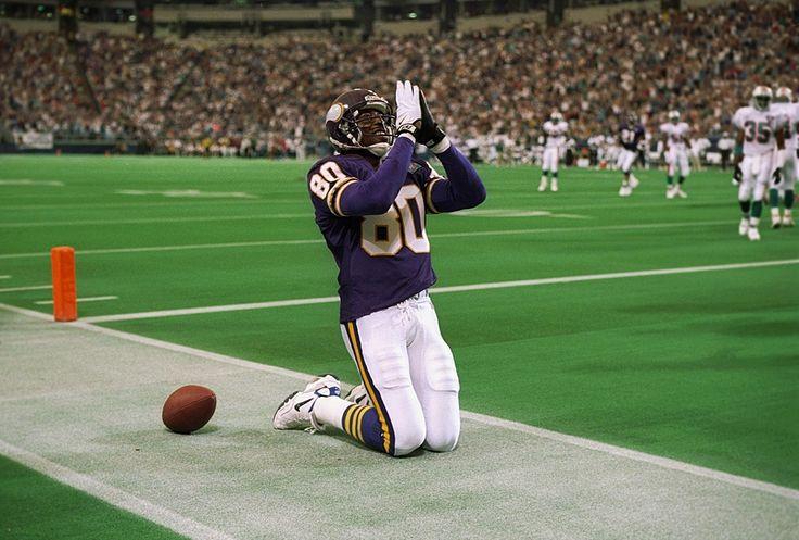 Cris Carter 1987-2002 (1990-2001 with Vikings)