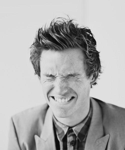 """I walk around talking to myself in accents, usually people look at me like I'm a complete fruit loop""  -Eddie Redmayne"