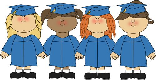 Cute+Girl+Graduation+Clip+Art | Preschool Graduation Border Clip Art Save on fees by going