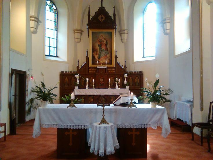 Lepsény, Magyarok Nagyasszonya Római katolikus templom