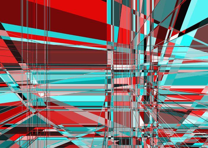 Frank Richter, overlapping set 21.009.19, c-print, 2012 (generative art)