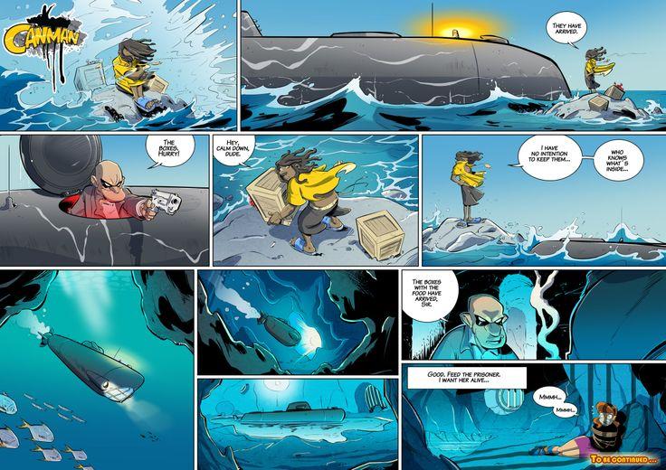 Season2 - Issue14 #canman #webcomic by #DARKDOG