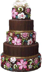 Vera Bradley inspired cake design