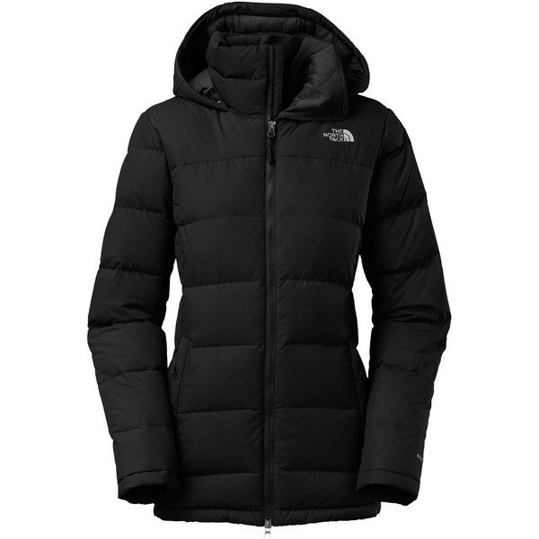 The North Face Fossil Ridge Down Parka ($269) ❤ liked on Polyvore featuring outerwear, coats, the north face® coats, the north face, hooded parka, summer coat and hooded parka coat