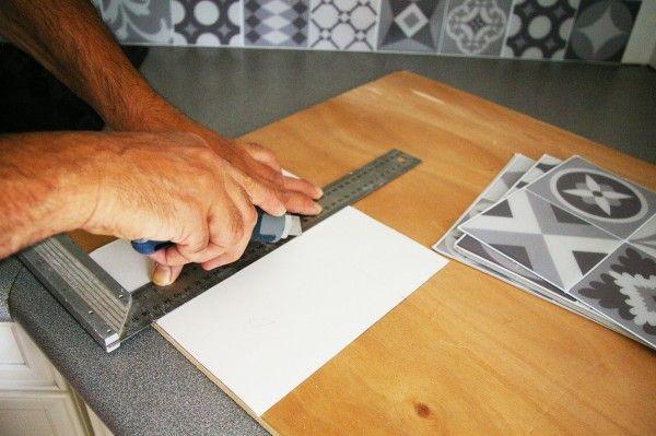 Faux Carrelage & Vrai Test : Notre Avis Sur La Crédence Adhésive Smart Tiles | Credence adhesive ...