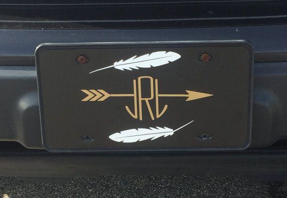 arrow frame monogram car - photo #37