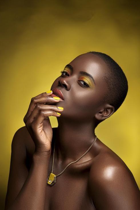 yellow lipstick dark skin - photo #44
