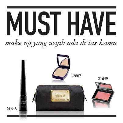 Apa sih make up yang wajib ada di tas kamu? share yuks....;)