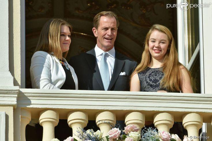 Camille Gottlieb et la princesse Alexandra de Hanovre avec Christopher LeVine lors de la... - Photos