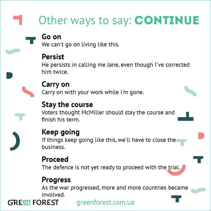 Continue Synonyms, Continue Antonyms | Thesaurus.com